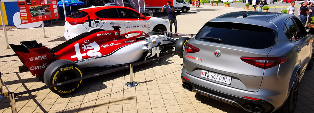 NOVIDEM beim Alfa Romeo-Treffen in Interlaken