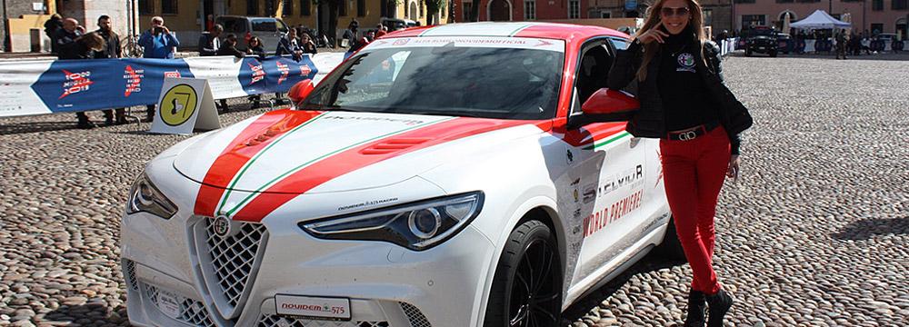 NOVIDEM Stelvio 575 bei der Mille Miglia  2019