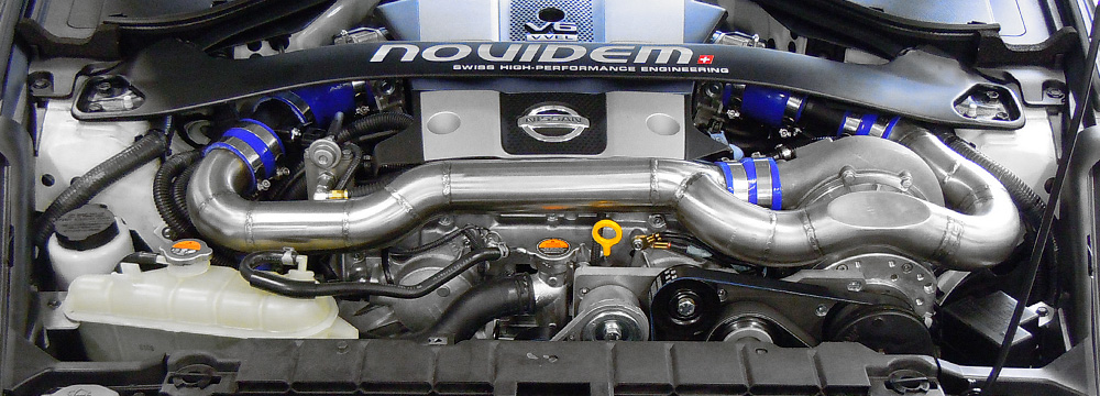 NOVIDEM SWISS AG - Nissan 370Z Kompressor Tuning ...