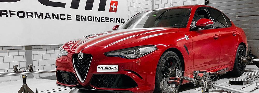 NOVIDEM Alfa Romeo Giulia QV
