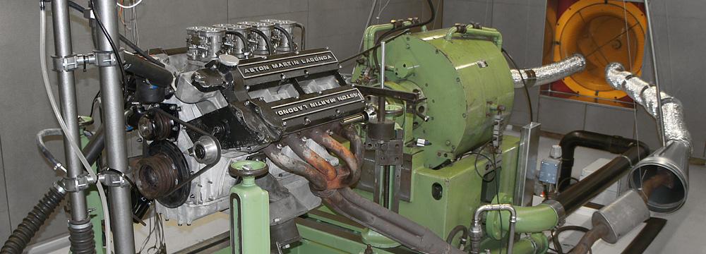Motorenprüfstand für Strassen- und Rennmotoren
